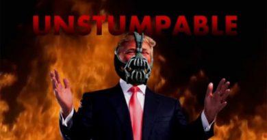Comparan discurso del villano Bane con el de Trump