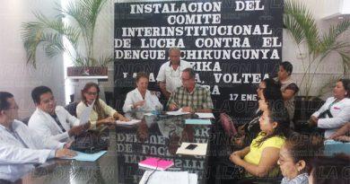 Instalan Comité Interinstitucional de lucha contra el dengue, chinkungunya y zica