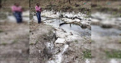 Derrame de crudo afecta a ganaderos
