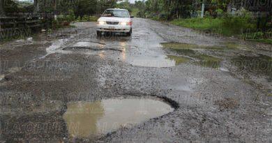 Destrozada la carretera a El Tajín