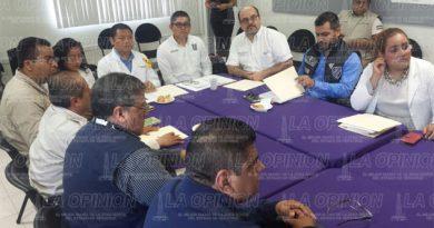 Directivos de salud se reúnen con autoridades de la Jurisdicción Sanitaria No. 3