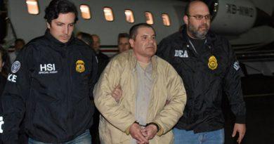 El Chapo será juzgado por delitos adicionales en EU