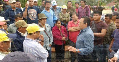 Familias desalojadas de Chichicoaxtla claman apoyo