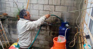 Fuga Gas Protección Civil Fuerza Civi