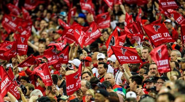 Halcones Atlanta Falcons Aficionados Fans