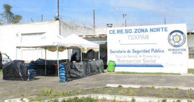 Muere otro reo en el penal de Tuxpan