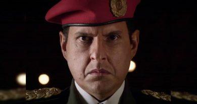 Hugo Chávez hecho en México