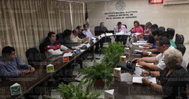 Inicia sesión del Consejo Distrital del INE