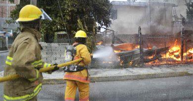 Llegan tarde los bomberos