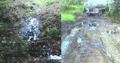 Otra fuga de hidrocarburo en Totolapa