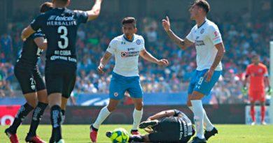 Peñalba Cruz Azul Sanción