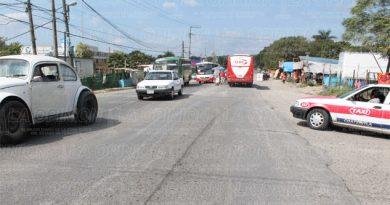 Piden se rehabilite tramo Poza Rica-El Chote