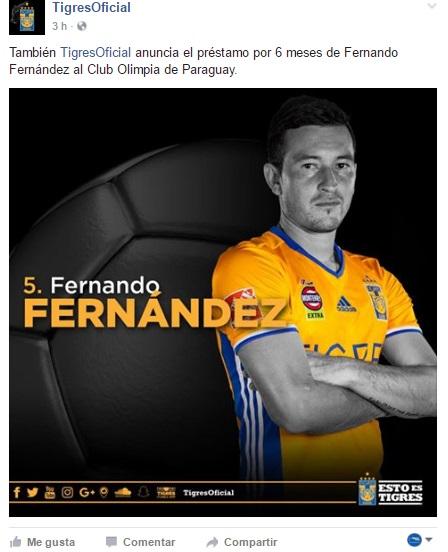 Préstamo Fernando Fernández Paraguay