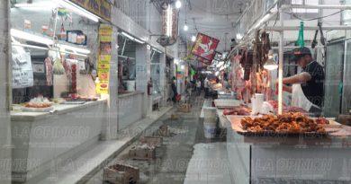 Problemas en mercado de Tuxpan afecta a carnicerías y pescaderías