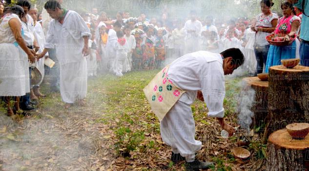 Pueblo tutunakú agradece al sol las bonanzas recibidas