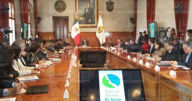 Realizan la primera Reunión del Consejo Estatal de Salud