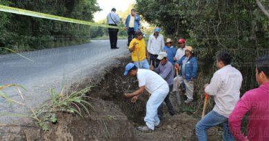 Sin agua cinco comunidades