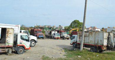 Sin camiones para basura