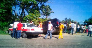 Taxi Camioneta Accidente