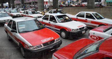 Taxistas en crisis