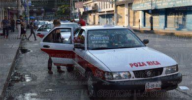 Taxistas ya cobran 13 pesos