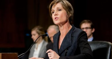 Trump despide a la fiscal general interina Sally Yates
