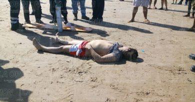 Turista muere ahogado en la playa
