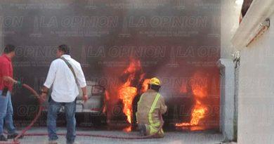 Tuxpan Incendio Auto