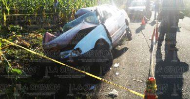 Un muerto y 5 heridos en carreterazo