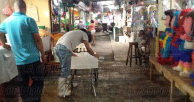 Vigilarán locales del mercado Poza Rica