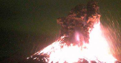 Volcán Colima Actividad