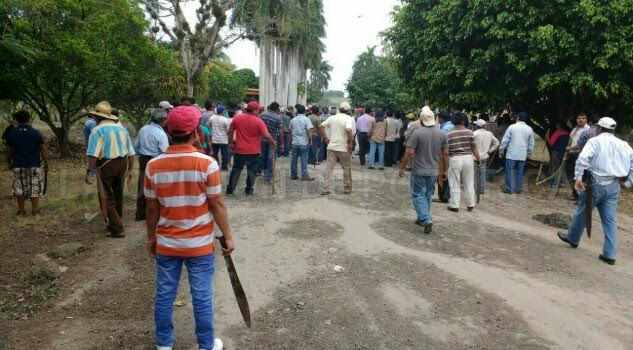 El Grupo de Liberación de Chichicoaxtla busca recuperar sus tierras