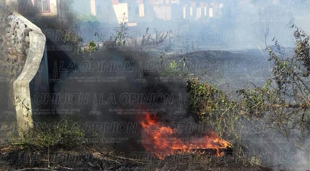 Arbitraria quema de basura
