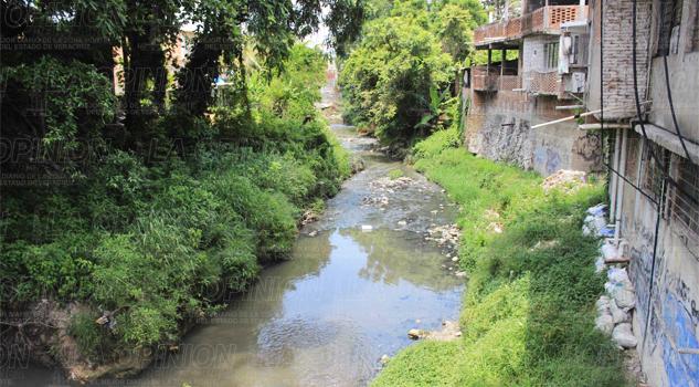 Arroyos de Poza Rica contaminados