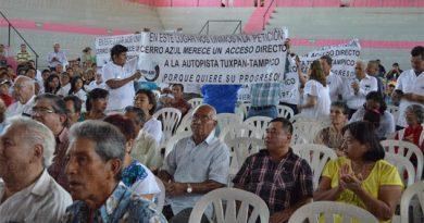 Autopista Tuxpan-Tampico estará a 17 kilómetros de Cerro Azul