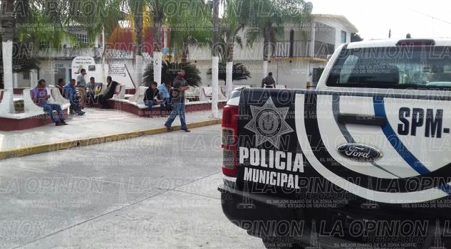 Buscan reactivar la Policía Municipal en Tamiahua