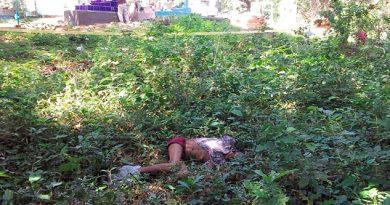 Cadáver Tirado Cementerio