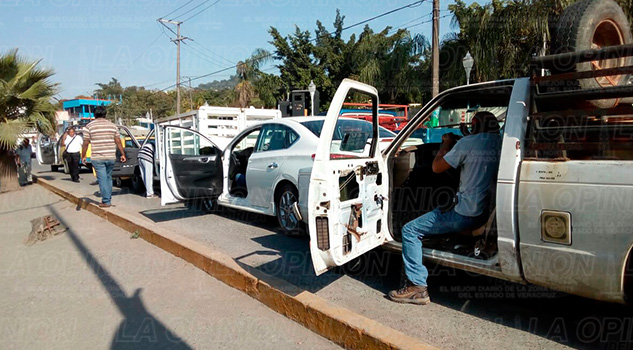 Choque Colonia Petromex Poza Rica