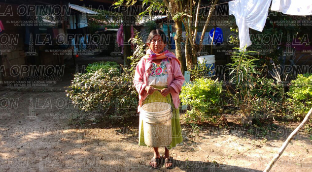 Claman agua habitantes en la comunidad La Laguna