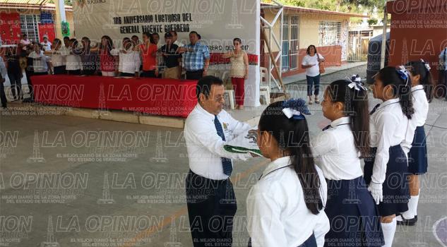 Conmemoran el 186 aniversario luctuoso de Vicente Guerrero