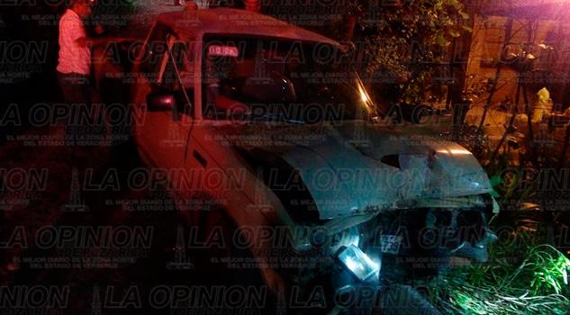 Cuatro Lesionados Camioneta sin frenos