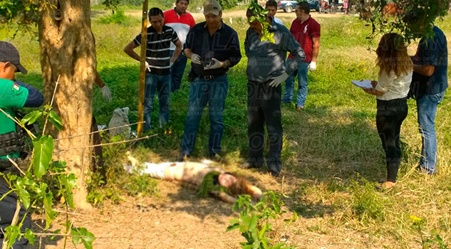 Cuerpo Mujer Muerta Totolapa