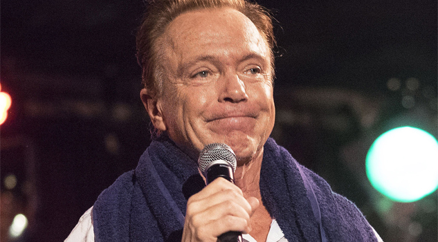 "David Cassidy se tomará un ""break"""