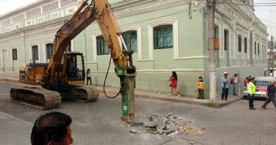 Demolición Concreto Avenida Papantla