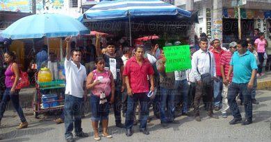 Desalojados claman el apoyo ciudadano