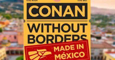 Diego Luna y Vicente Fox al show de Conan O'Brien