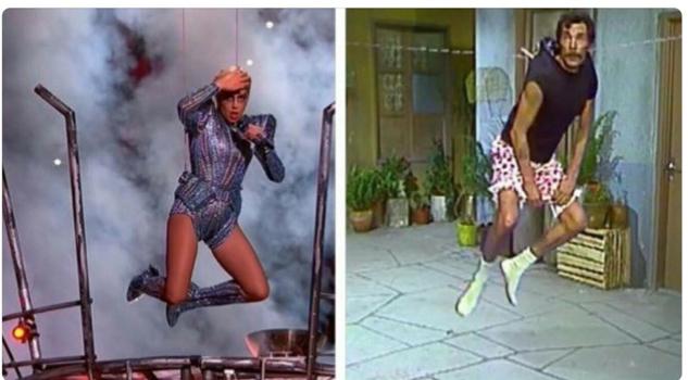 Diviértete con los memes de Lady Gaga en el SuperBowl