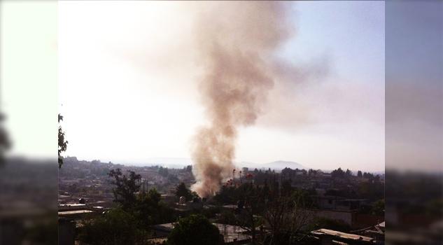 Dos muertos por explosión de polvorín en Ixtacuixtla