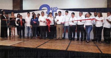 Inauguran Tercera Expo Estudiantil