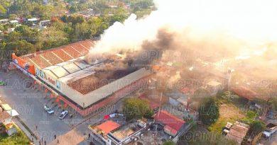Fuego y destrucción en Arteli